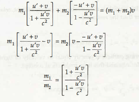 Variation of Mass with Velocity